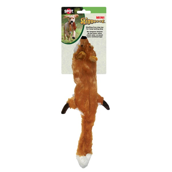 "Skinneeez Stuffing Free Dog Toy 14""-Fox 14039236"