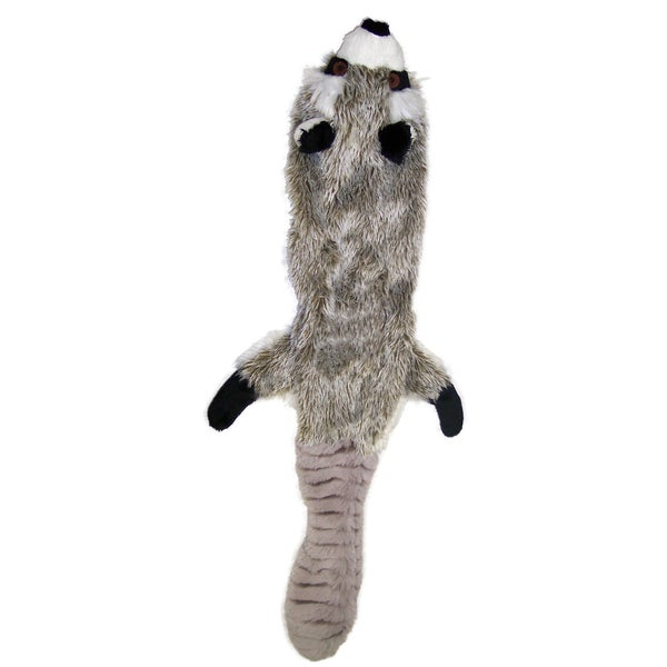 "Skinneeez Stuffing Free Dog Toy 14""-Raccoon 14039241"