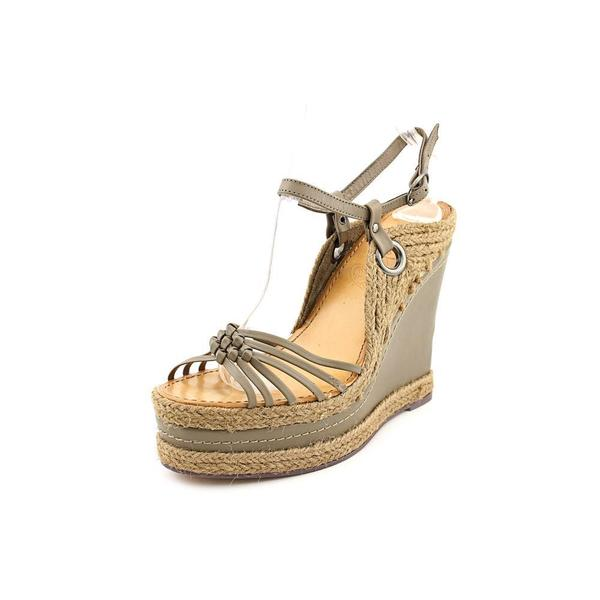 Naughty Monkey Women's 'Divine' Leather Sandals