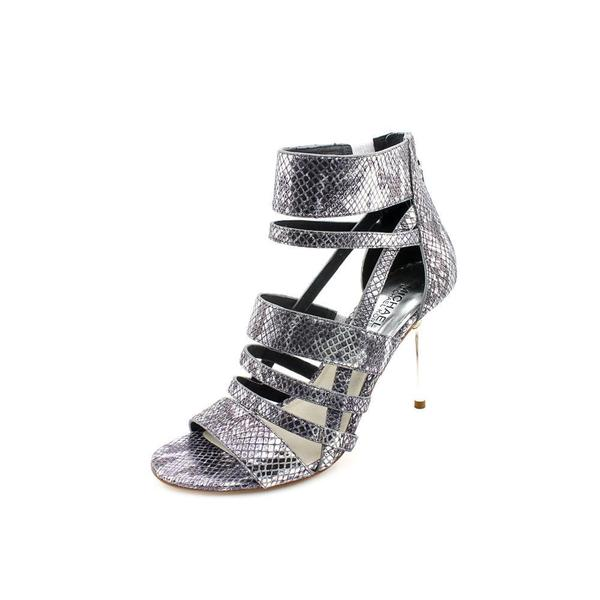 Michael Kors Women's 'Shiloh' Leather Sandals