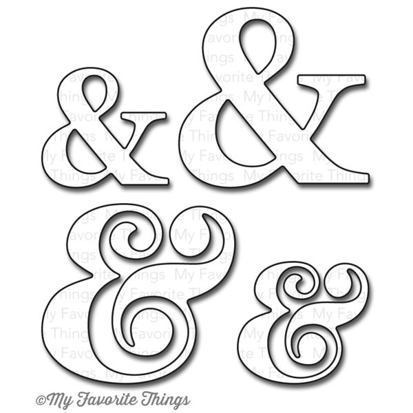 "Die-Namics Dies-Ampersand, 1""X1.25"" To 1.5""X 1.625"""