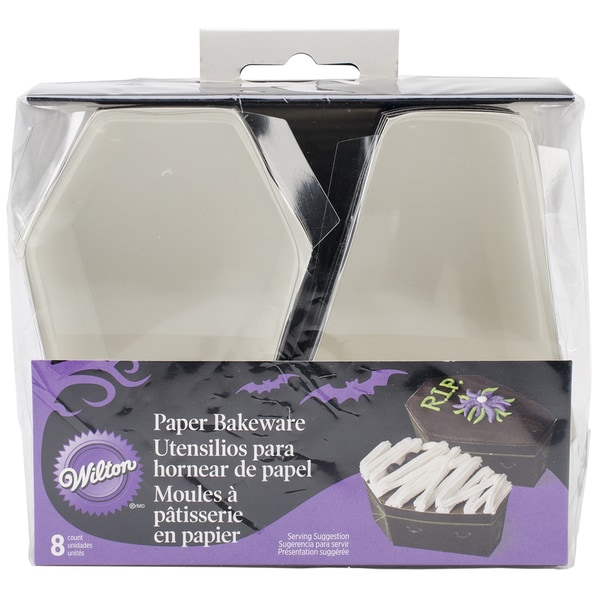 Disposable Bakeware 8/Pkg-Coffin