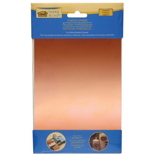 Copper Sheet 6X9in