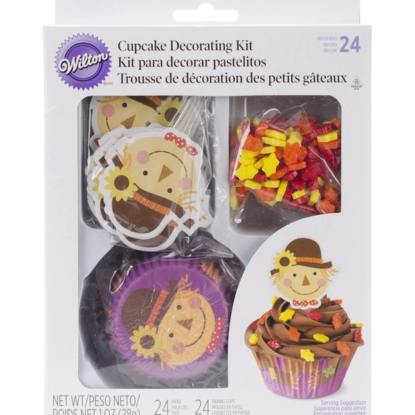 Cupcake Decorating Kit-Scarecrow
