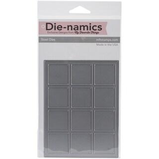Die-Namics Cover-Up Die-Square Grid