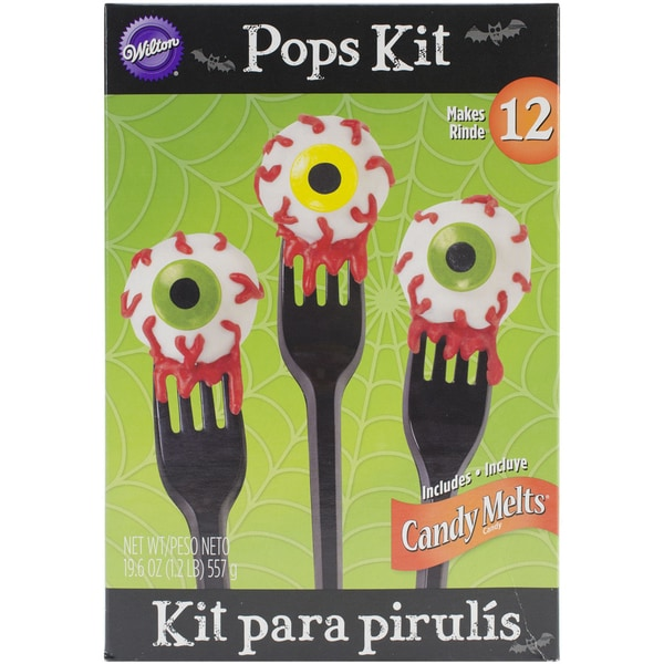 No Bake Pops Kit-Eyeball