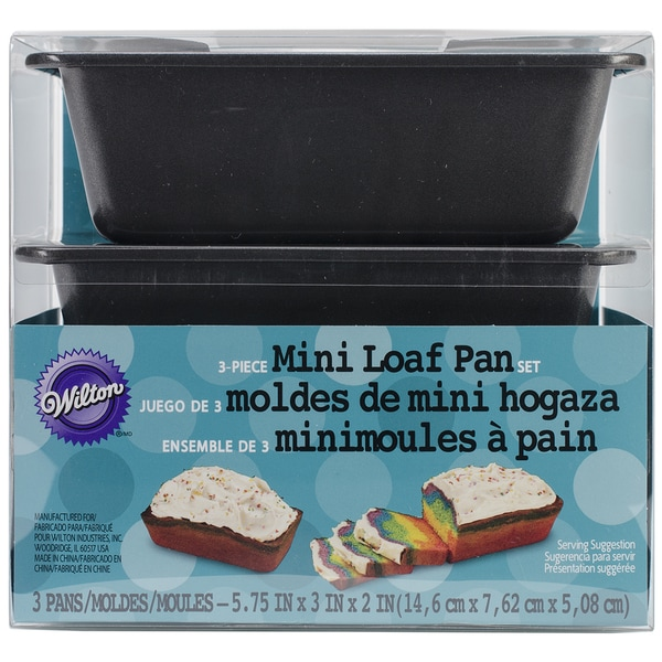 Mini Loaf Pans 3/Pkg