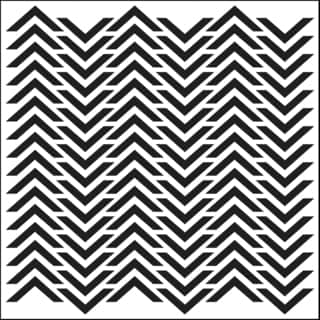"Crafter's Workshop Template 6""X6""-Chevron"