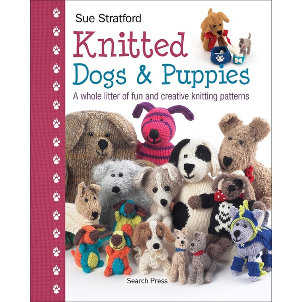 Search Press Books-Knitted Dogs & Puppies