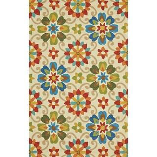 "Grand Bazaar Tufted Polypropylene Hareer Rug in Multi 7'-6"" x 9'-6"""