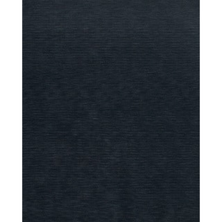 Grand Bazaar Hand Woven 100-percent Wool Pile Sonora Rug in Charcoal 9'-6 x 13'-6
