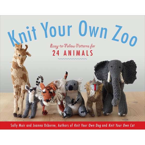 Black Dog Books-Knit Your Own Zoo