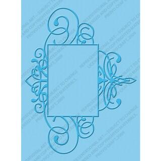 Cuttlebug A2 Embossing Folder-Flourished Frame