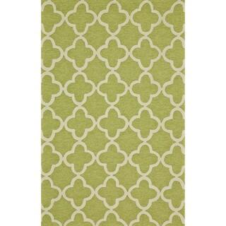 Radiance Green Rug (5' x 8')