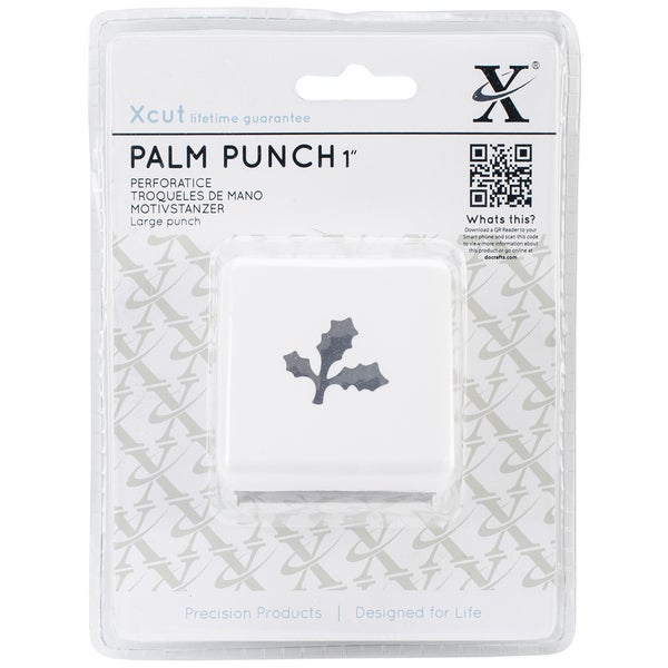 Xcut Large Palm Punch-Holly Branch