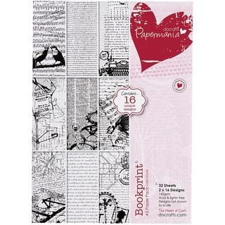 Papermania Paper Pack A5 32/Pkg-Bookprint