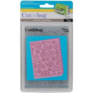 Cricut Cuttlebug A2 Embossing Folder-Perfectly Paisley