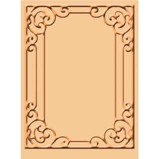 Cuttlebug A2 Embossing Folder-Tiffany