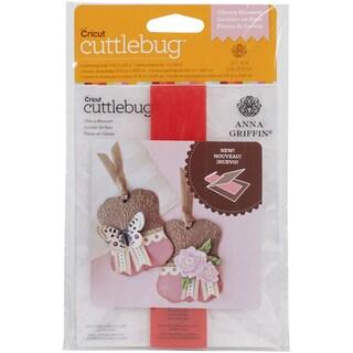 Cuttlebug A2 Embossing Folder/Border Set-Cherry Blossom By Anna Griffin