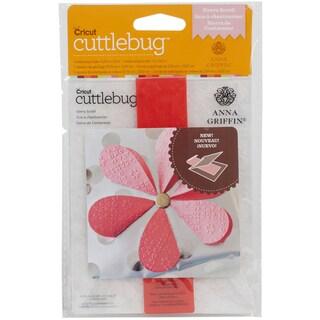 Cuttlebug A2 Embossing Folder/Border Set-Sierra Scroll By Anna Griffin