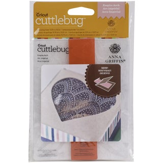 Cuttlebug A2 Embossing Folder/Border Set-Empire Arch By Anna Griffin