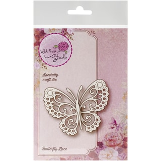 """Wild Rose Studio Specialty Die 2.5""""X3.25""""-Butterfly Lace"""