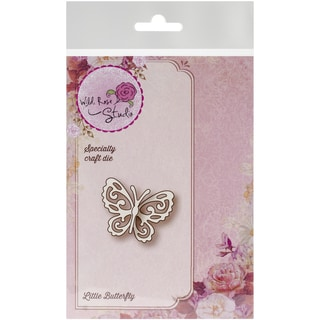 "Wild Rose Studio Specialty Die 1.35""X1.75""-Little Butterfly"