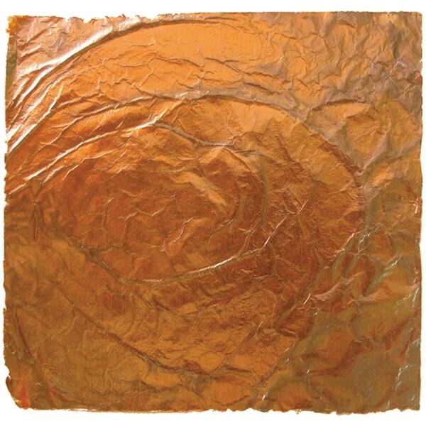 """Mona Lisa Variegated Leaf 5.5""""X5.5"""" 6 Sheets/Pkg-Dawn"""