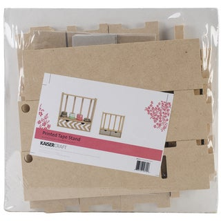 """Beyond The Page MDF Printed Tape Stand-7.5""""X7.5""""X2"""""""