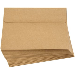 "Smooth A7 Envelopes (5.25""X7.25"") 50/Pkg-Kraft"