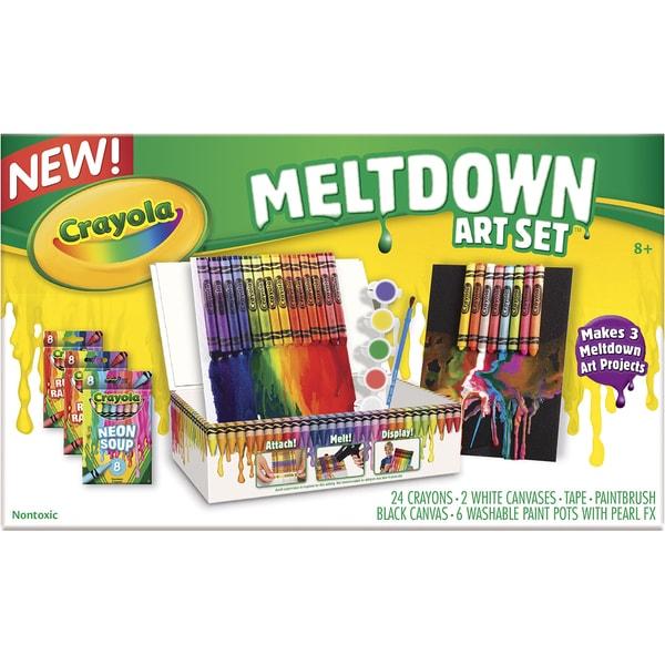 Crayola Crayon Mini Meltdown Gift Set