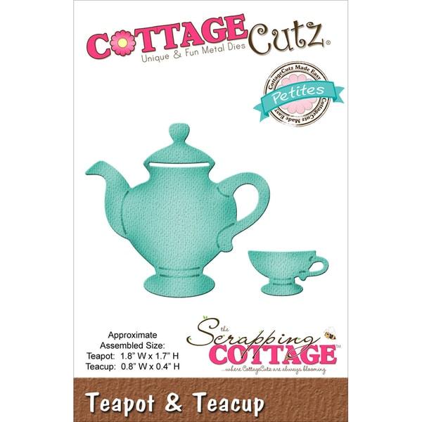 "CottageCutz Petites Die 1.8""X1.7""-Teapot & Teacup"