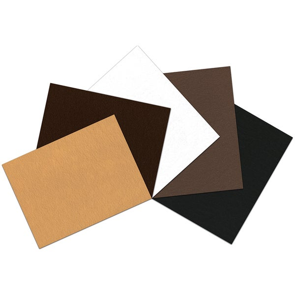 "Kunin Self-Adhesive Presto Felt Assortment 9""X12"" 5pc-Autumn"