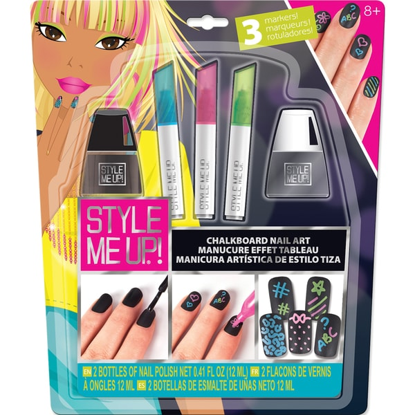 Style Me Up! Chalkboard Nail Art Kit