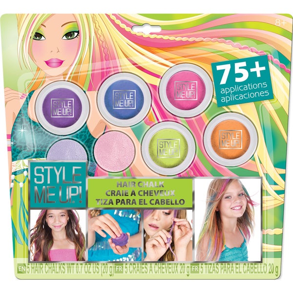 Style Me Up! Hair Chalk Multi Pack Kit