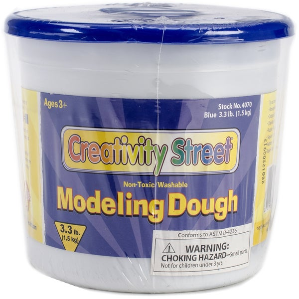 Modeling Dough Tub 3.3lb-Blue