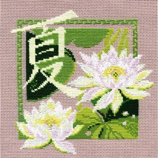 """Summer Counted Cross Stitch Kit-8""""x8"""" 16 Count"""