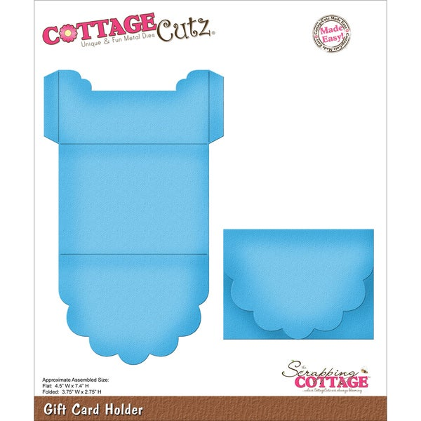 CottageCutz Die-Gift Card Holder