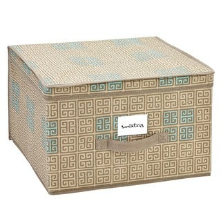 SedaFrance Jumbo Cameo Key Taupe Storage Box