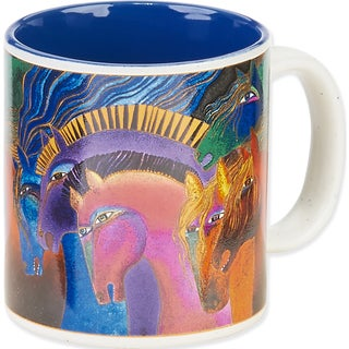 Laurel Burch Artistic Mug Collection-Wild Horses Of Fire