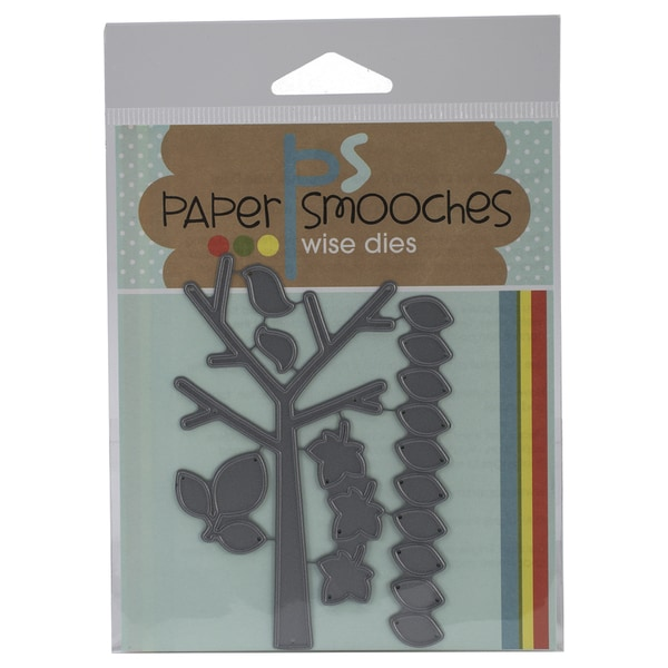 Paper Smooches Die-Seasonal Tree