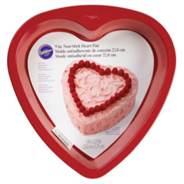 Novelty Cake Pan-Red Heart