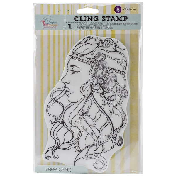 Penny Black Cling Rubber Stamp 5X7.5 Sheet Deco Tree