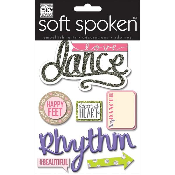 Soft Spoken Themed Embellishments-Love Dance