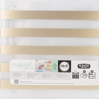 "Teresa Collins Albums Made Easy 3-Ring Album 8.5""X11""-Stripe"