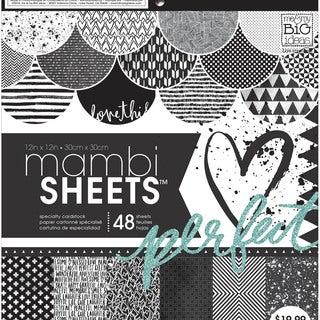 "Mambi Paper Pad 12""X12"" 48/Pkg-Graphic"