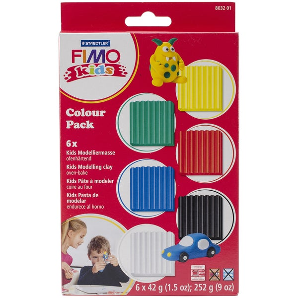 Fimo Color Pack 1.5oz 6/Pkg-Basic