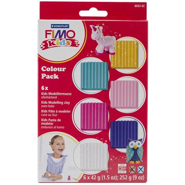 Fimo Color Pack 1.5oz 6/Pkg-Girlie