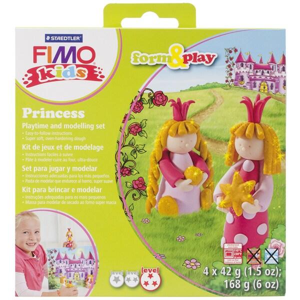 Fimo Kids Form & Play Set-Princess