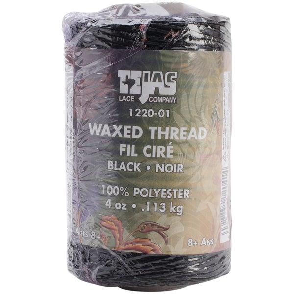 Tejas Waxed Thread 132yd-Black